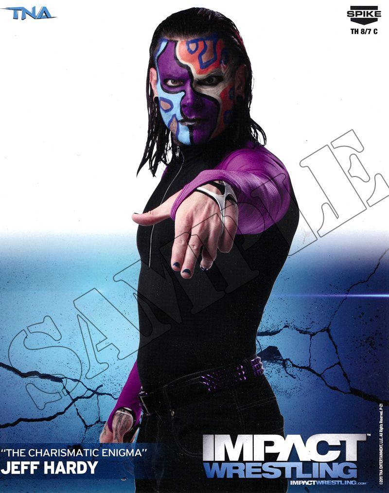 Jeff Hardy - Face Paint Photo   ShopTNA   Wwe jeff hardy ...