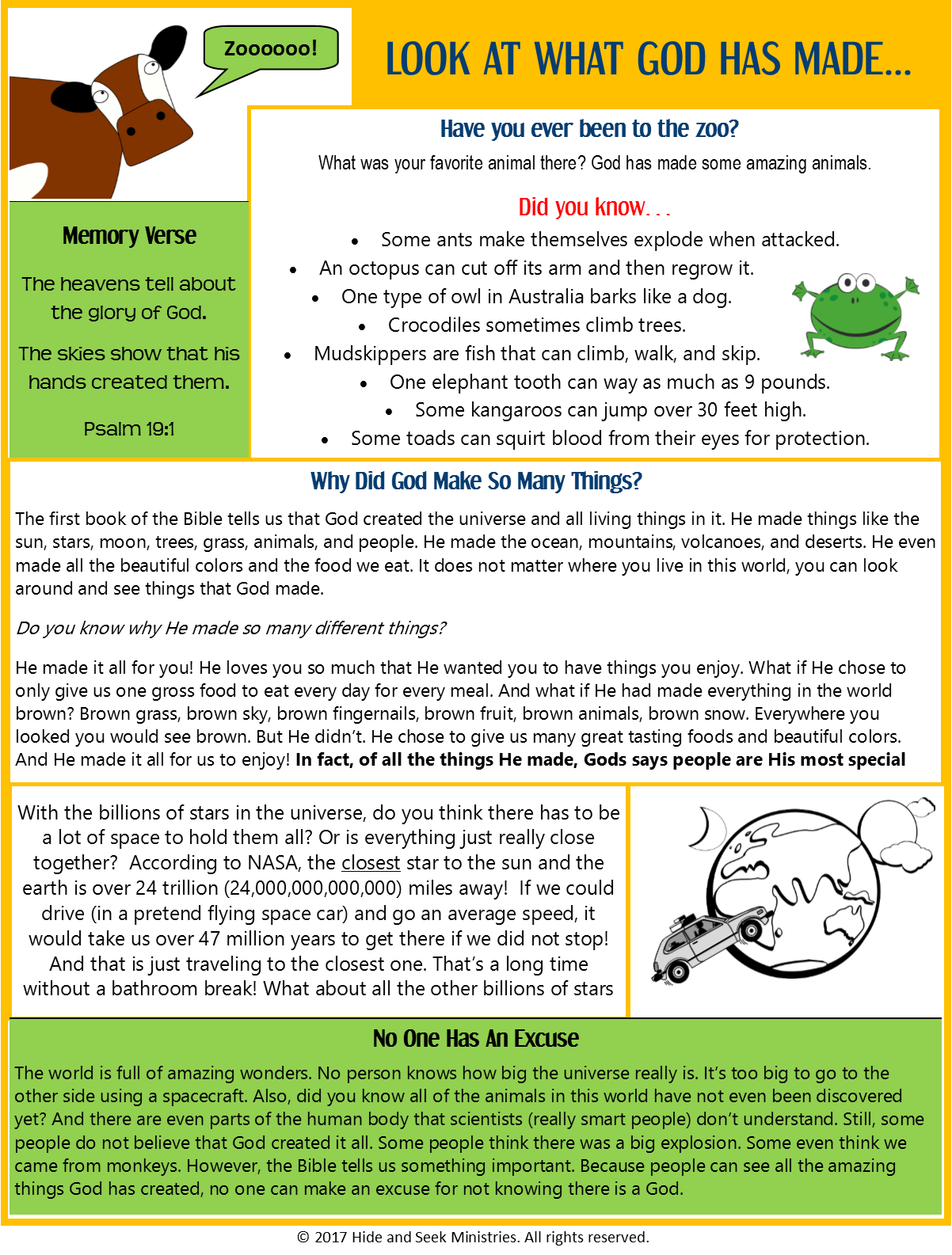 Free Printable Bible Lessons For Kids