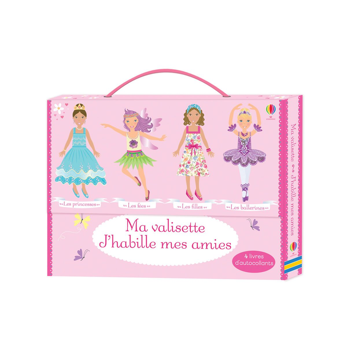 Livre Ma Valisette J Habille Mes Amies Pour Enfant De 4 Ans