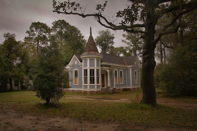 Historic District Quitman Ga Brooks County Victorian Cottage