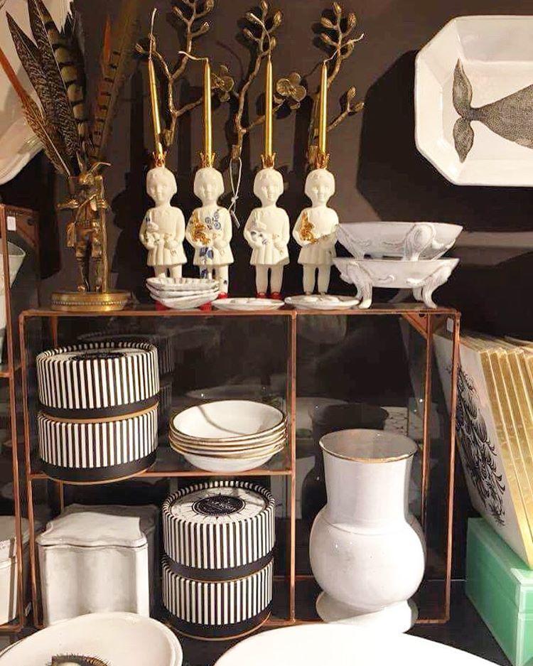 Porcelain clonette doll candle holders by lammers en lammers maisonnl concept store amsterdam