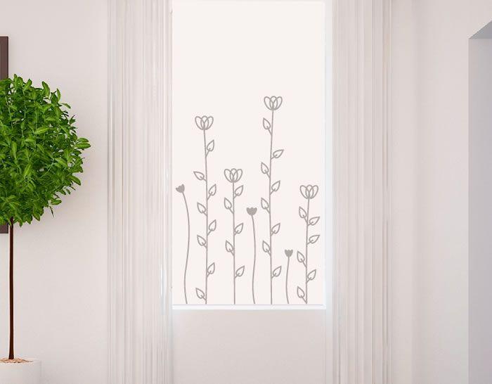 Vinilos florales para dormitorios vinilos decorativos for Vinilos decorativos para recamaras