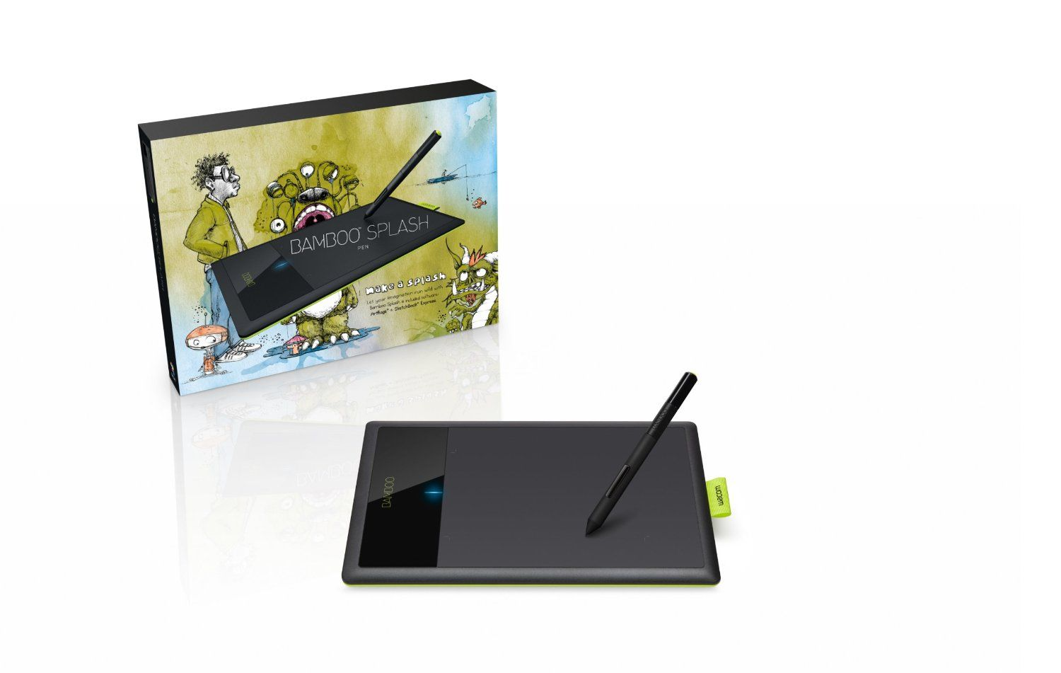 Amazon Com Wacom Bamboo Splash Pen Tablet Ctl471 Computers