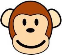 monkey face pattern cute ideas for porter pinterest monkey