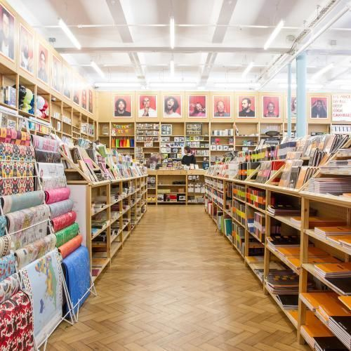 Art Craft Supplies Fred Aldous Craft Shop Arts Crafts Supplies Shop Layout