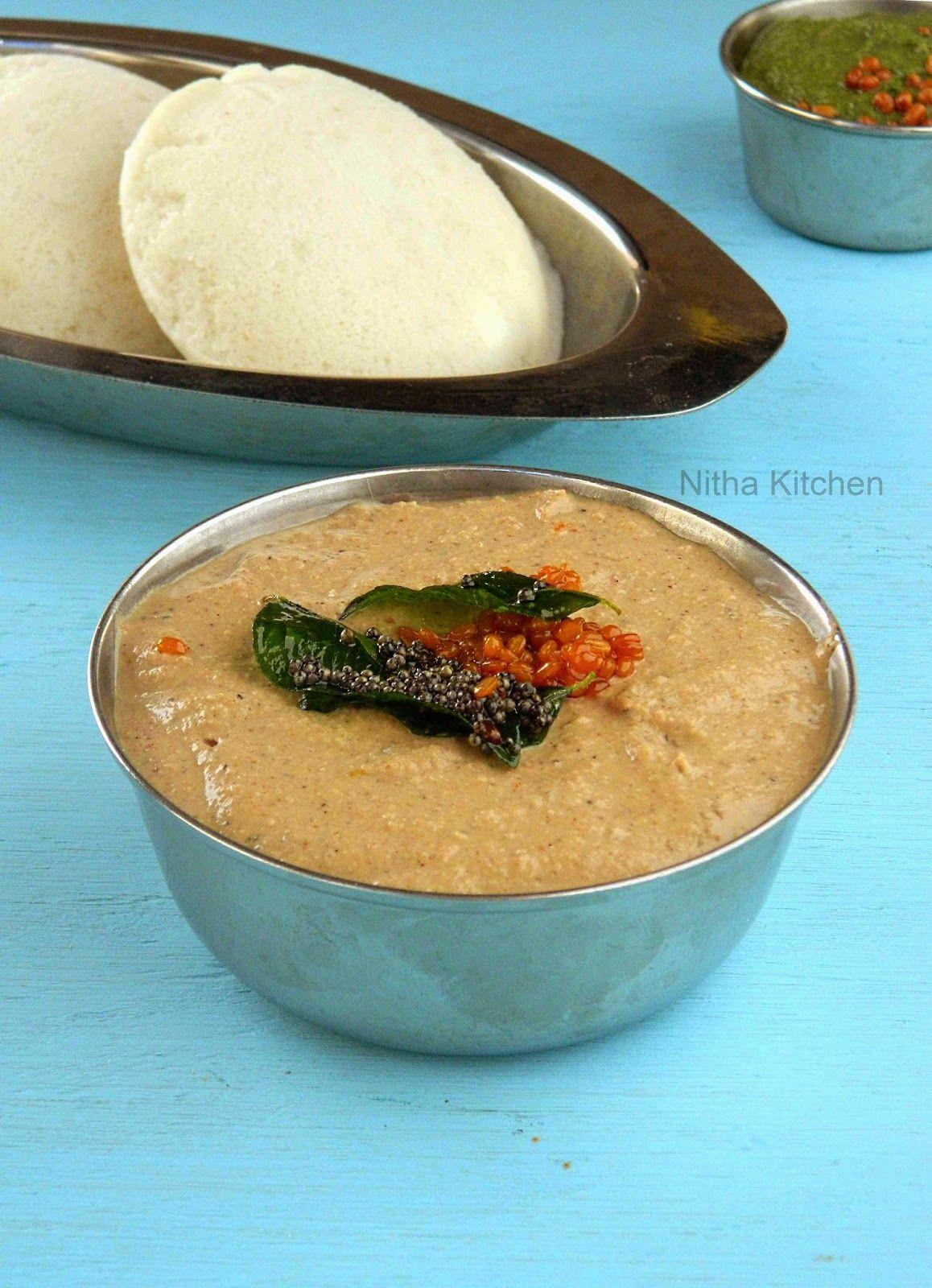 Kongunadu Peanut Chutney | Verkadalai Chutney Recipe | Food (Indian ...