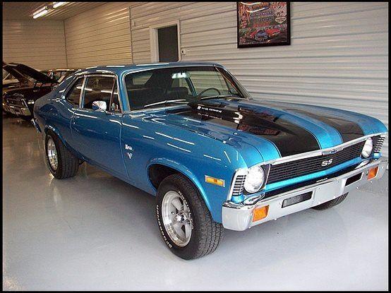 1972 Chevy Nova… Sweet.