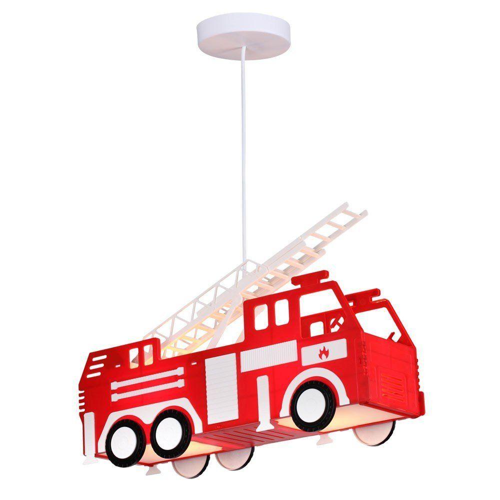 Kinderzimmer Lampe Feuerwehrauto Dekoration Feuerwehrzimmer ...