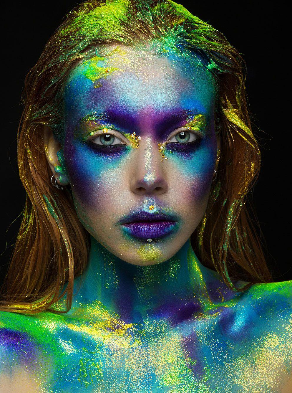 Makeup Maquiagem Fantastik makyaj, Karakter makyajı