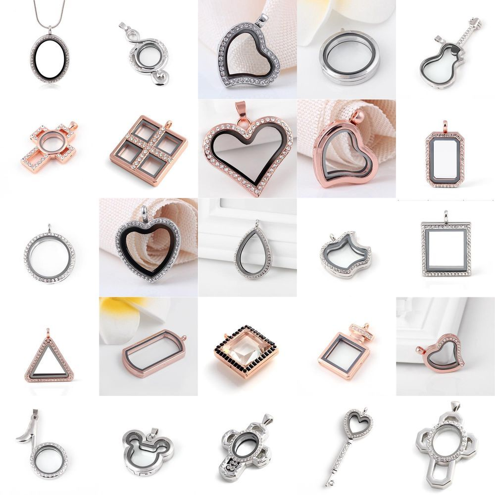 10pcs Christmas Theme Floating Charms for Glass Locket Free Shipping FC1107