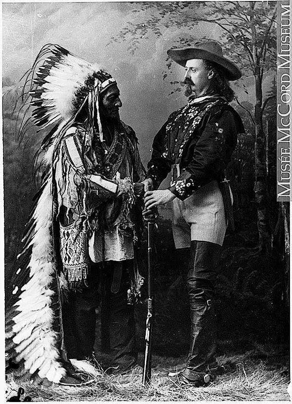 American Indian Chief Lakota Sioux Sitting Bull Little Bighorn Buffalo Bill