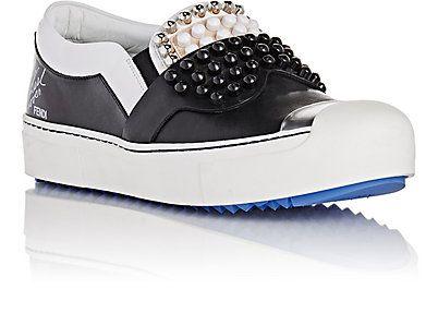 Fendi Karlito Slip-On Sneakers o8myX352