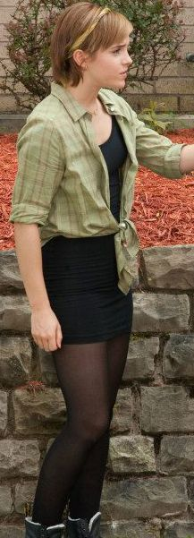 Emma watsons hair in perks of being a wallflower