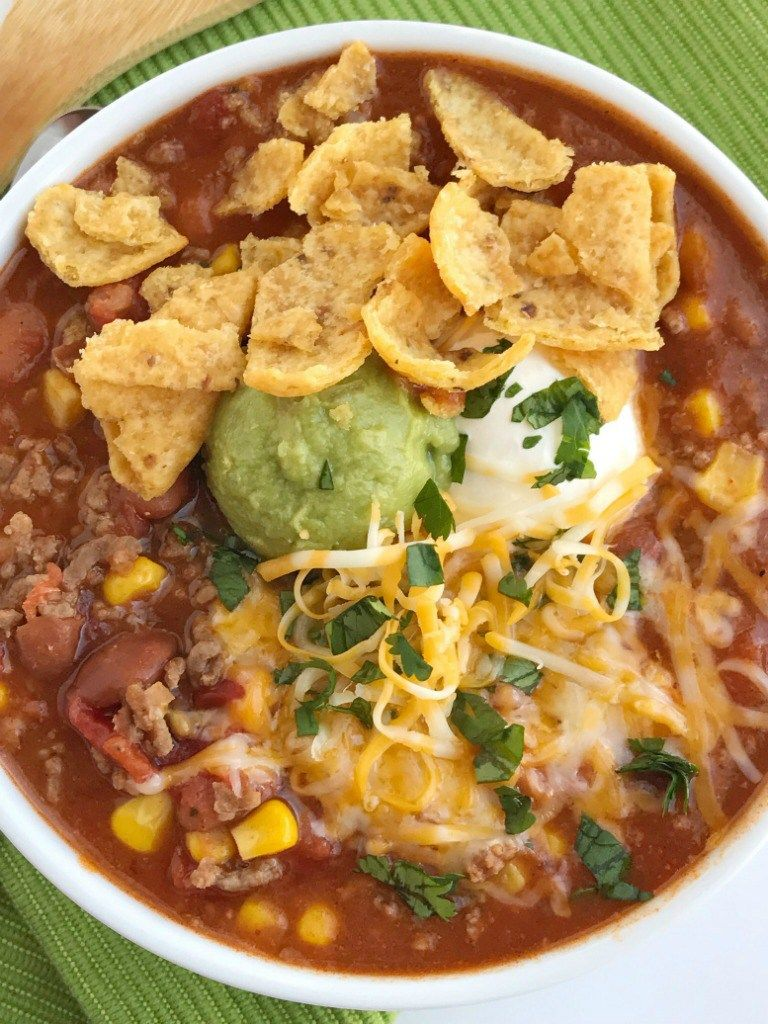 Simple Taco Soup Taco Soup Recipe Ground Beef Recipe Taco Soup Has All The Flavors Of A Taco But In A Warm C Beef Recipes Taco Soup Recipe Soup Recipes