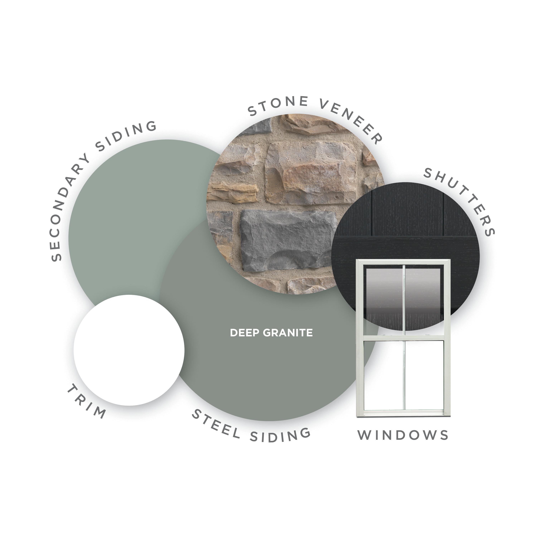 Steel Siding Color Deep Granite Steel Siding Offers