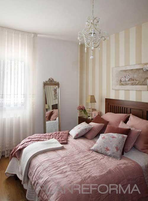 Dormitorio style moderno color rosa marron blanco for Decoracion de la habitacion de nina rosa