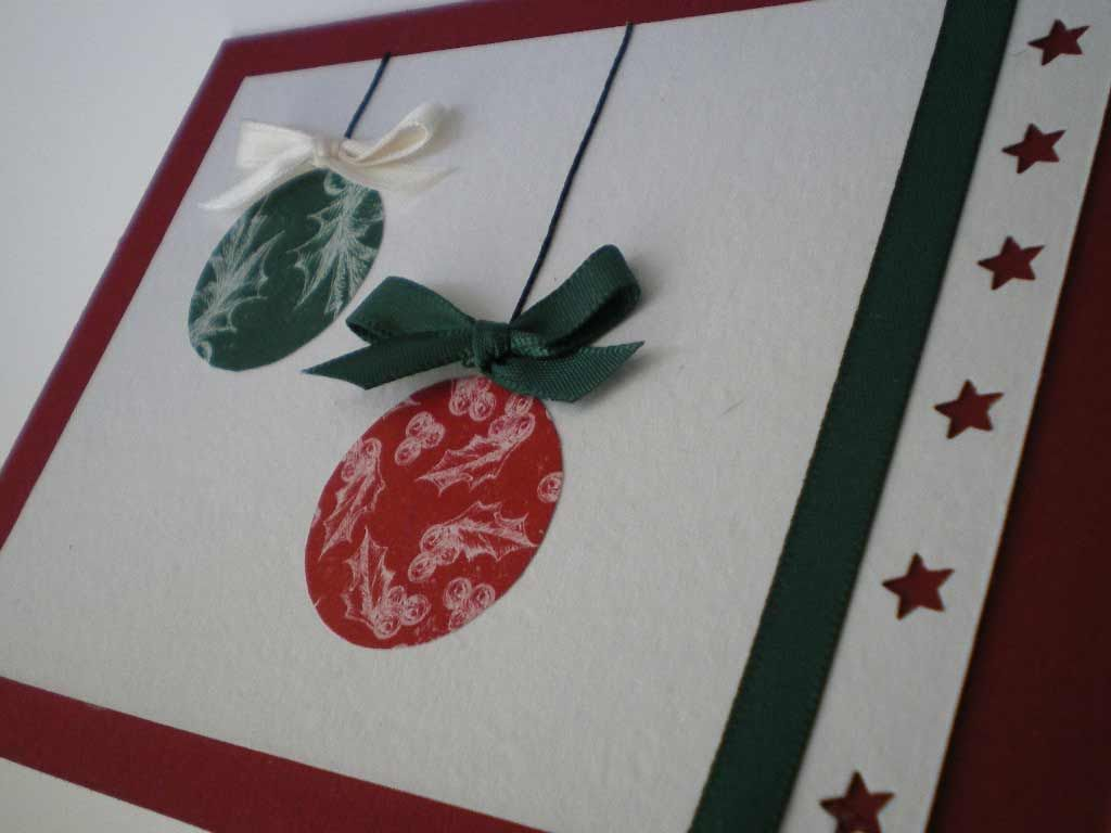 Crees que las tarjetas navide as artesanales son - Tarjetas navidenas creativas ...