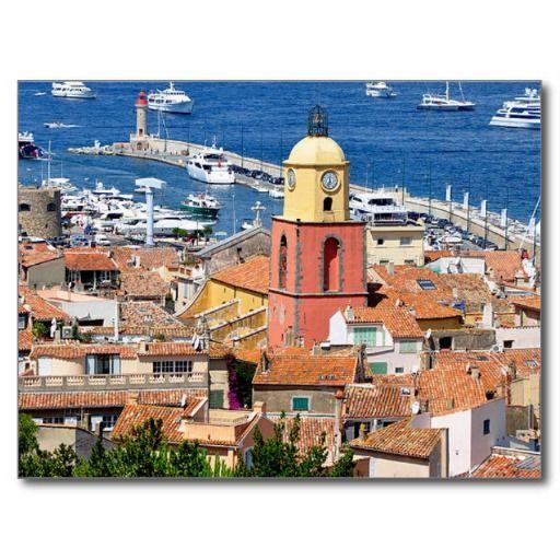 Carte Postale Postcard St Tropez, Var, France | Zazzle.fr en 2019 | Saint tropez, Vacances en ...