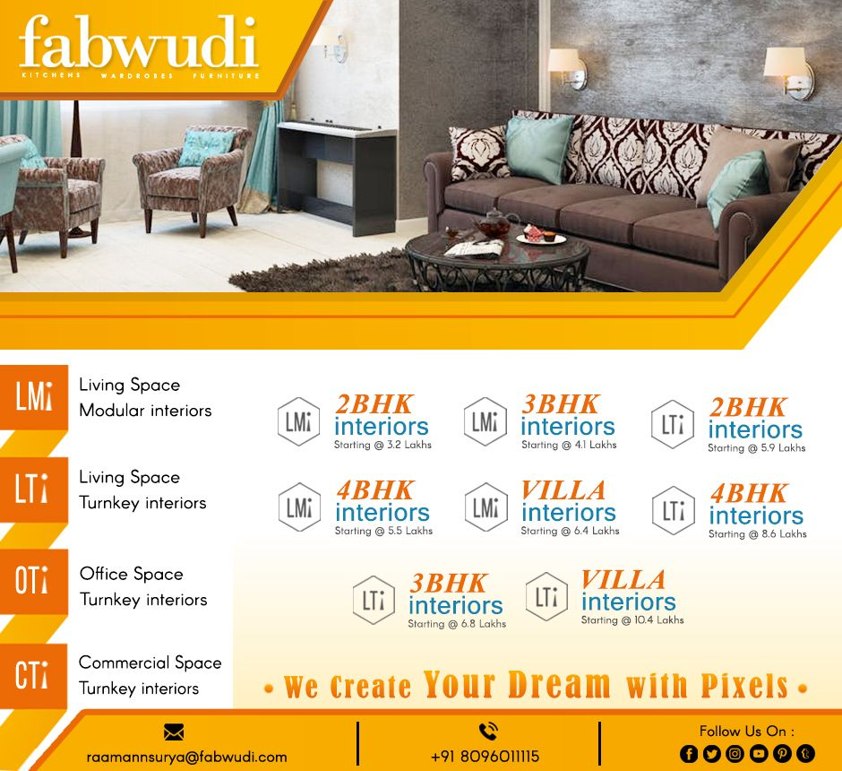 Fabwudi gives interior design ideas about  little bit also best in hyderabad images rh pinterest