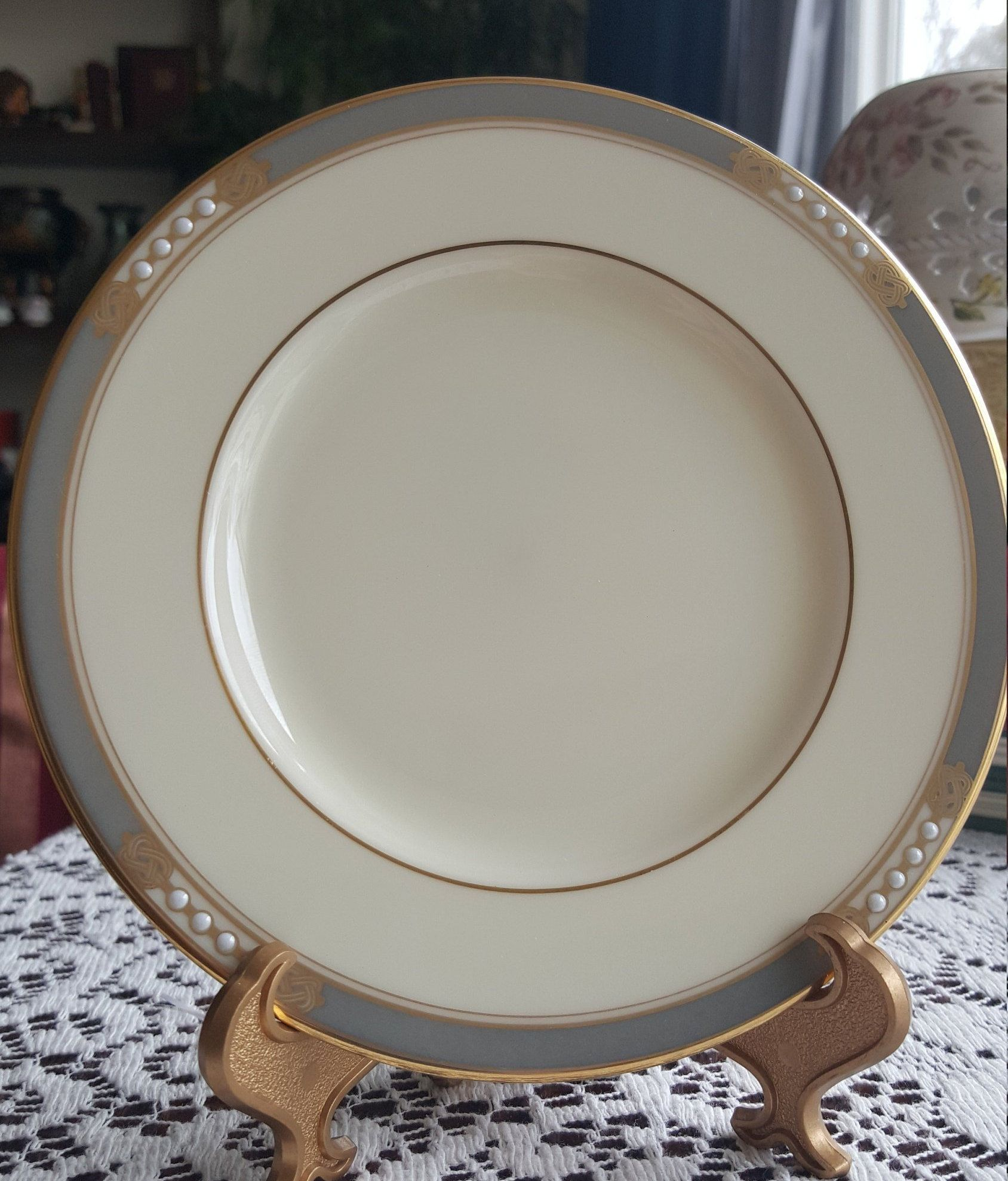5 Bread & Butter LENOX Mckinley Presidential Collection