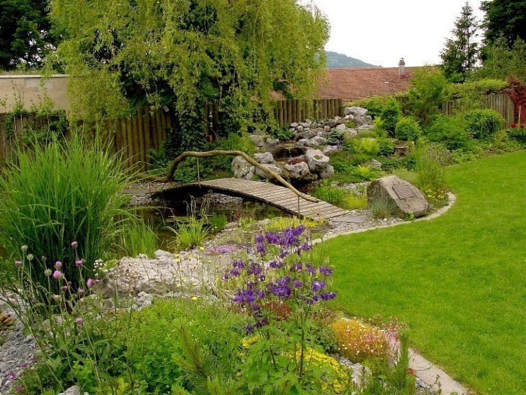 Bachlauf Anlegen Nutzliche Tipps Und Lebendige Vorschlage Garten Zenideen Bachlauf Anlegen Garten Landschaftsbau Gartengestaltung
