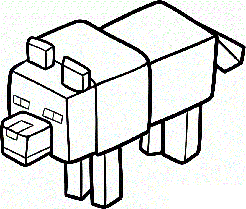 Minecraft Coloring Pages Minecraft Coloring Pages Minecraft Wolf Minecraft Printables