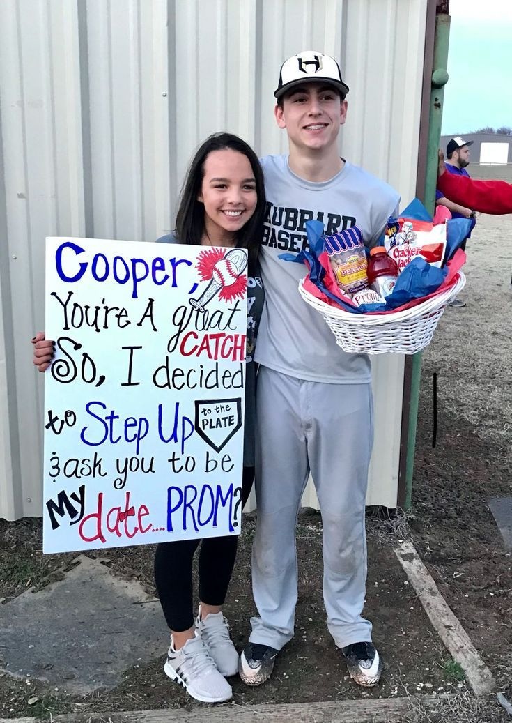 Promposal 2018 Baseball #singleprompictures #hocoproposals