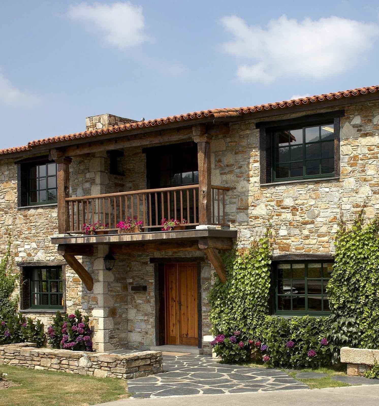 Casas de campo rusticas sencillas buscar con google for Fachadas rusticas de piedra y ladrillo
