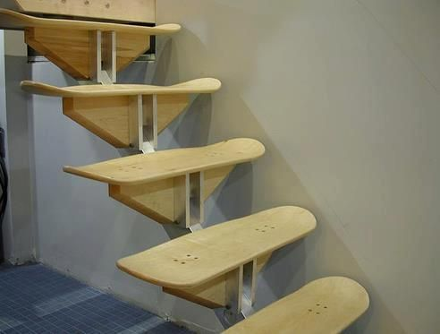 Skate's stair...