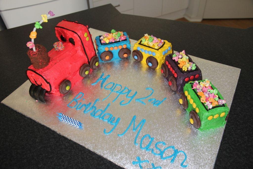 Australian Women S Weekly Train Birthday Cake That I Made For