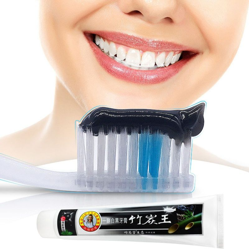 100 new bamboo toothpaste charcoal all purpose teeth whitening the