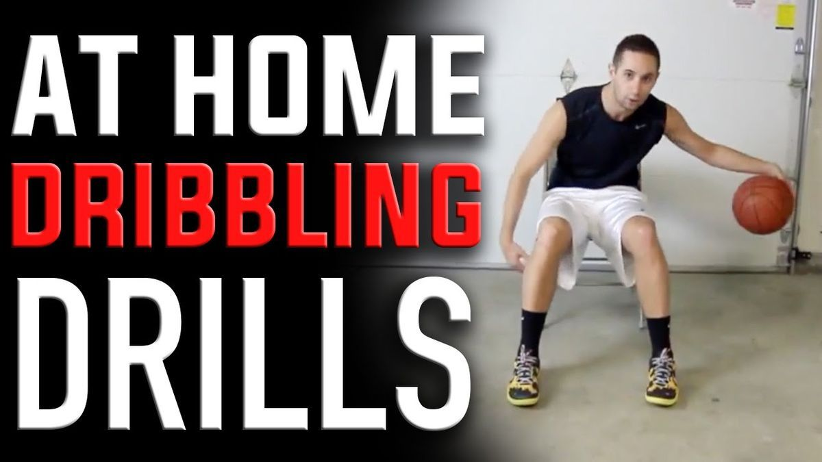 At Home Basketball Dribbling Drills How To Dribble Get The Best Tips On How To Increase Your Basketball Drills Dribbling Basketball Drills Basketball Workouts