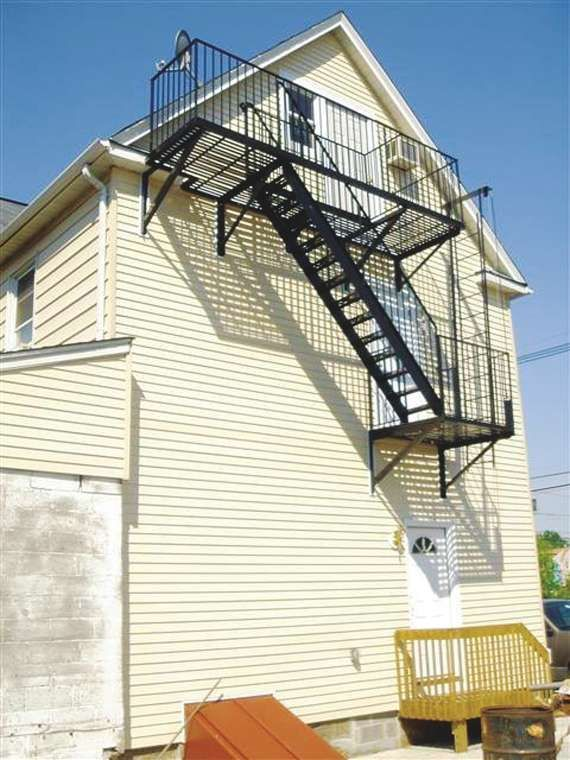 Exceptional Image Result For Permanent Fire Escape Steps