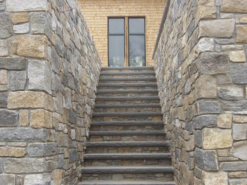 Thin Brick Veneer Stone Natural Thin Stone: Boston Blend Ashlar Thin Veneer In 2019