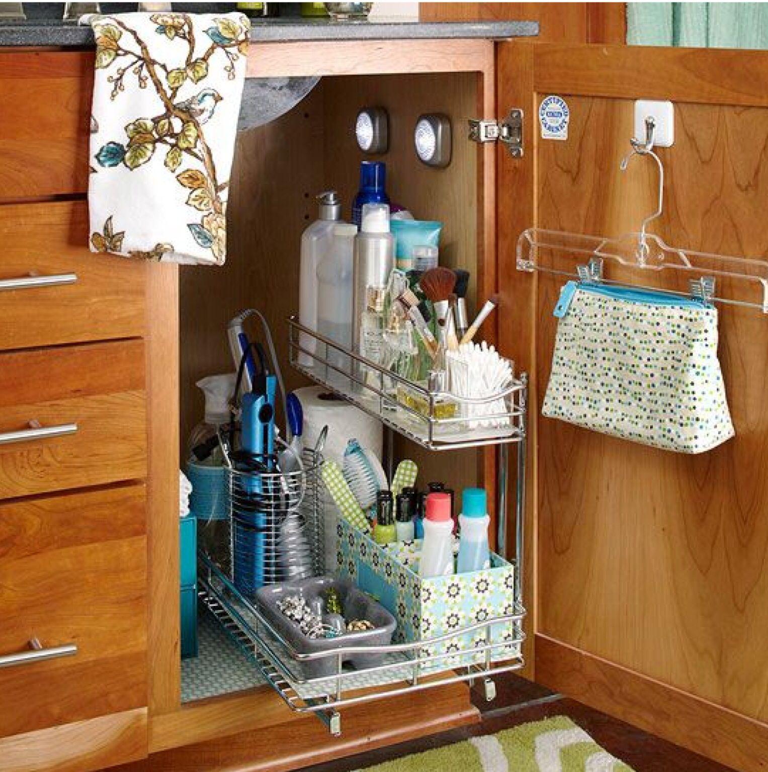 Para Aprovechar Eios Solos Y Que Sirva De Ayuda Bathroom Cabinet Organization Home