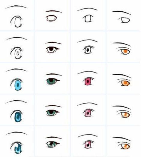 Dibujar Ojos Para Ninos Http Www Respuestario Com Como Como Dibujar Manga Guia Para Empezar Paso A Paso Como Dibujar Animes Dibujos De Ojos Como Dibujar