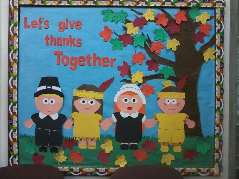 Bulletin Board Ideas For Thanksgiving