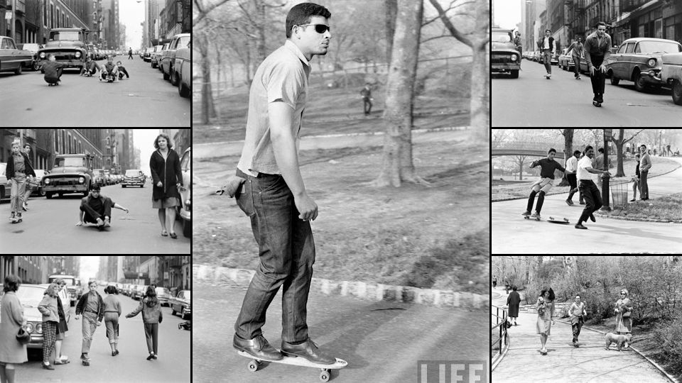 Would you guess this photo was taken in the 60's? This dude is crazy ahead of his time..