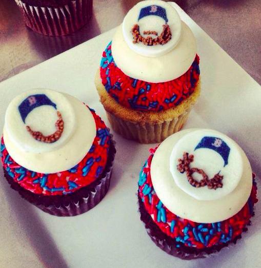 SWEET Boston Red Sox #GetBeard Cupcakes!