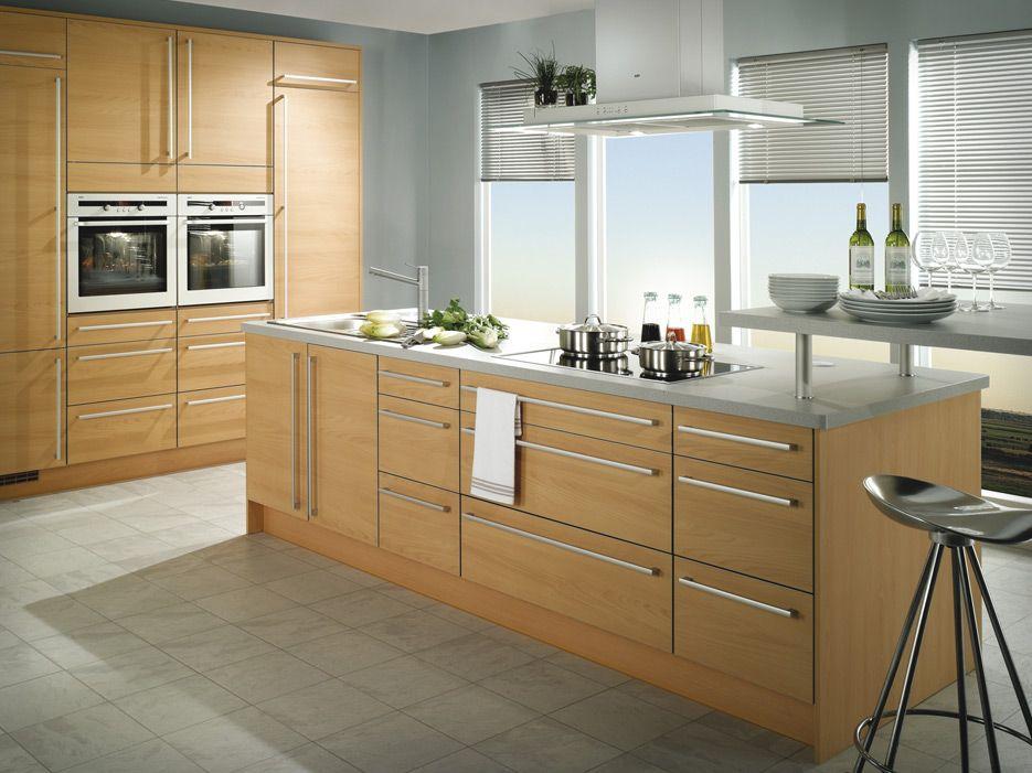 gabinetes cocina madera clara - Buscar con Google | Tavito ...