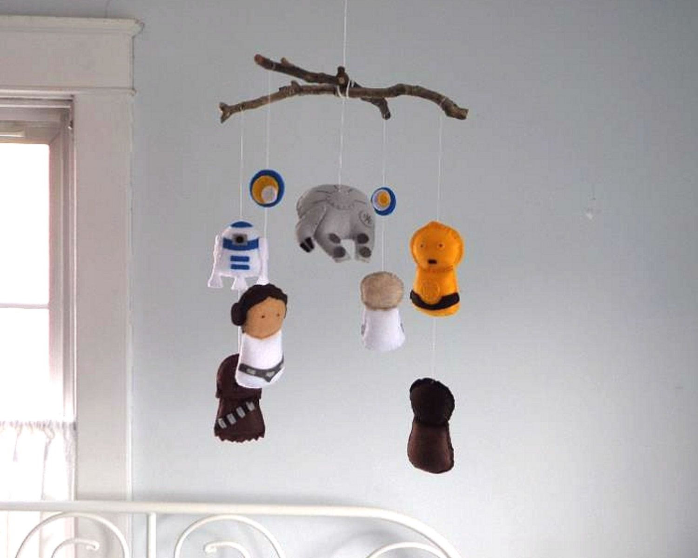 Star Wars Mobile Baby Crib Nursery Bedding 95 00 Via Etsy