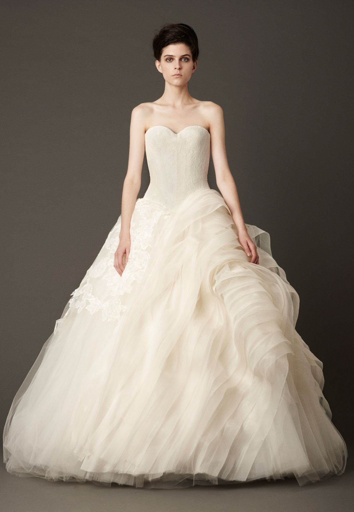 Vera wang lace wedding dress  Wedding Dresses Bridal Gowns by Vera Wang  Fall   Weddings