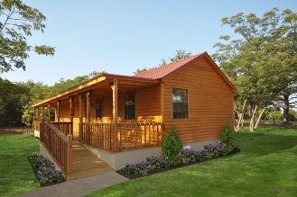 The homestead series log cabin successfully brings family for Log cabin home builders in texas