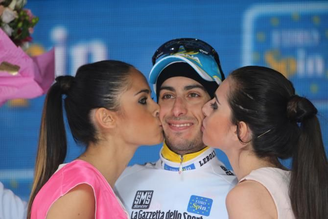 Fabio Aru (Astana) still the best the young rider in the race