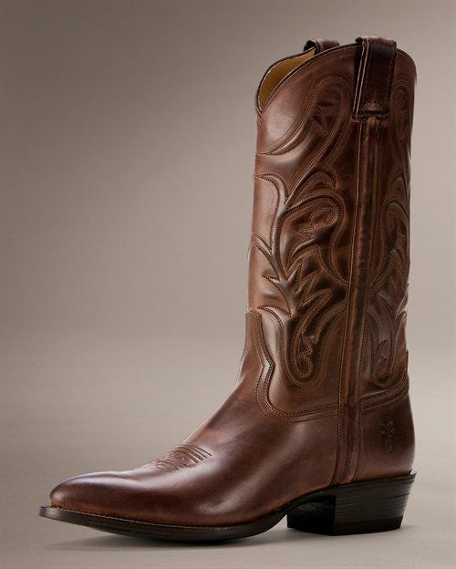 Mens Cowboy Boots I Want A Pair Fashionista Frye
