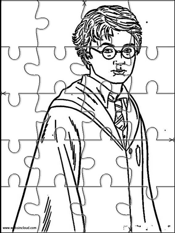 Printable Jigsaw Puzzles To Cut Out For Kids Harry Potter 28 Coloring Pages