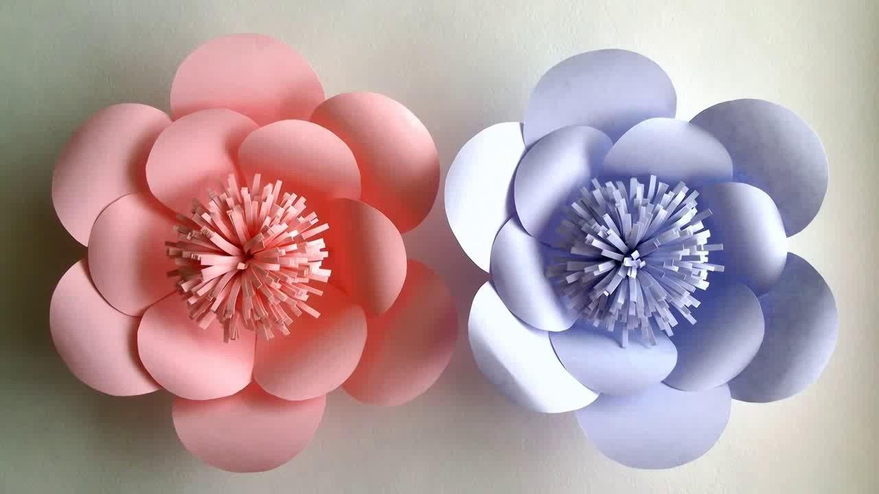 How to make paper flower easily pepar flower tutorial step by step how to make paper flower easily pepar flower tutorial step by step diy pepar crafts mightylinksfo