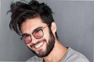 Estilos De Barba Para Jovenes Beard Styles Handsome Men Round Sunglass Men
