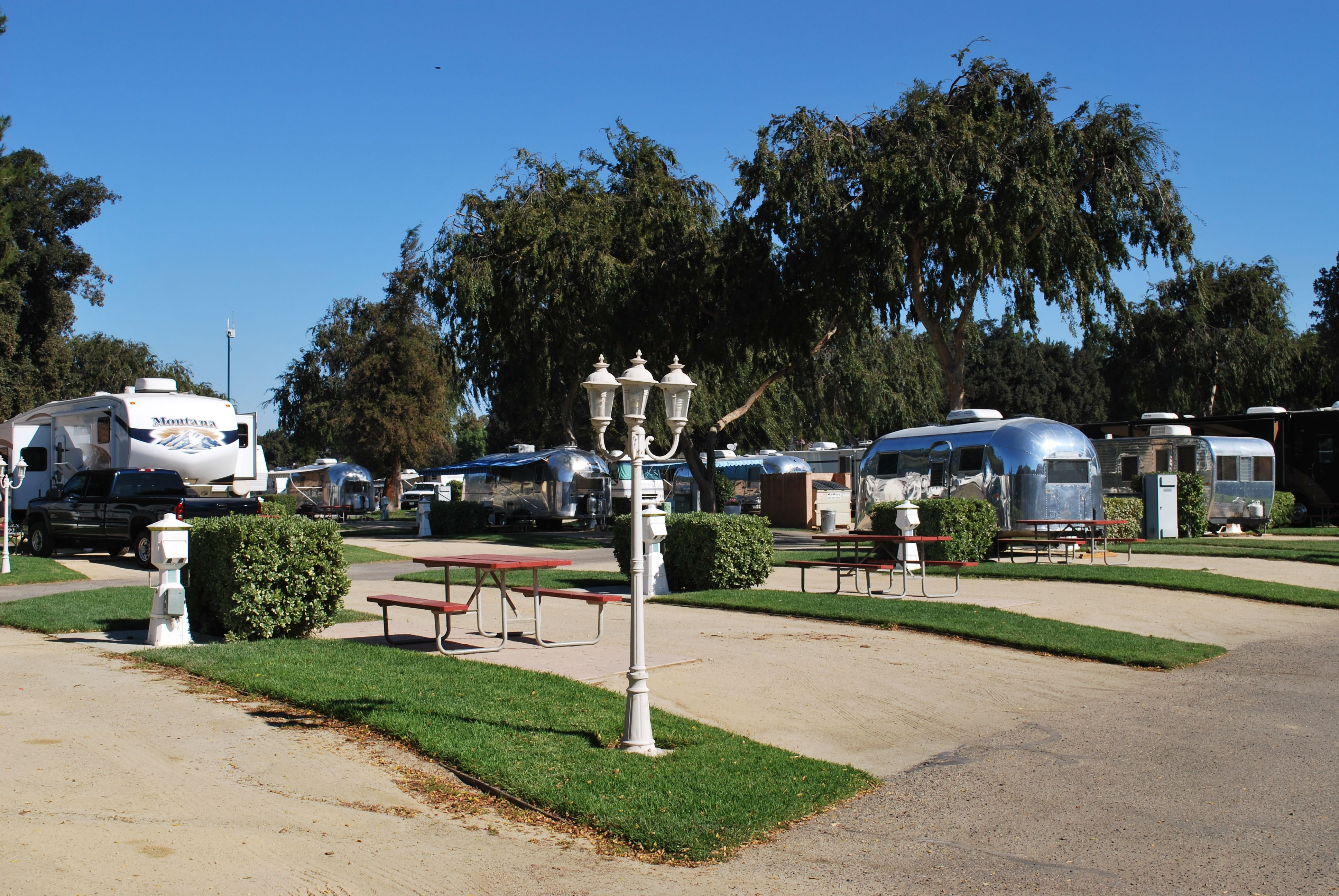 A Fun Place To Camp Near Solvang Calif Is Flying Flyings Rv Resort In Neighboring Buellton The Campground Has Rv And Tent Sites As W Tent Site Places Resort