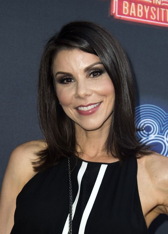 Rhoc Star Heather Dubrow Thinks She Knows Which Couple From The Show Will Divorce Next Hair Beauty Salon Style Hair Salon